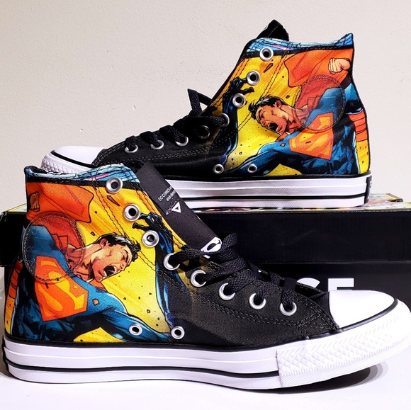 Converse Chuck Taylor All Star DC Superman Shoes 322a4a77b